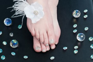 Swarovski Crystal Pedicure